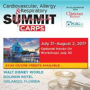 Cardiovascular, Allergy, and Respiratory Summit - CARPS 2017